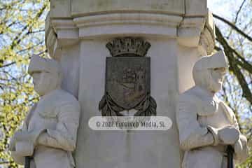 Escultura «Pedro Menéndez de Avilés» en Avilés