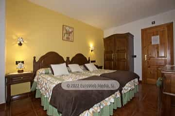Habitación 106. Hotel rural La Ercina