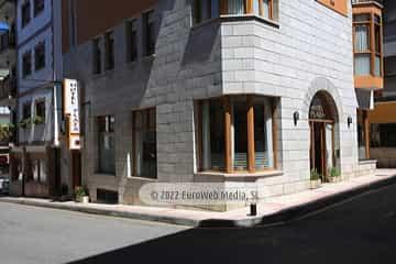 Exteriores. Hotel Plaza