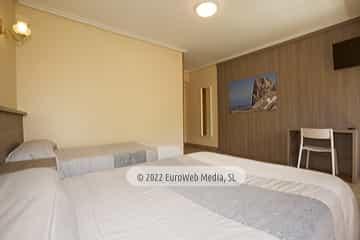 Habitación 205. Hotel Naranjo de Bulnes