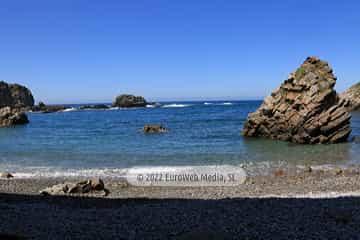 Playa de Pormenande