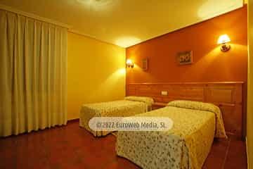 Exteriores. Hotel Garganta del Cares