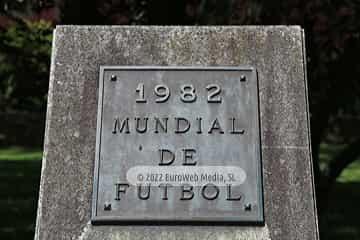 Escultura «Placa Conmemorativa Mundial de fútbol 1982»