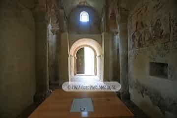 Interiores. Iglesia de San Miguel de Lillo