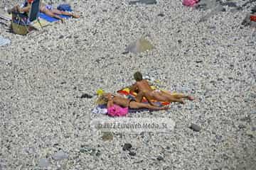 Playa La Atalaya (Ribadesella). Playa La Atalaya