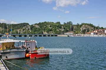 Puerto de Ribadesella. Puerto deportivo de Ribadesella