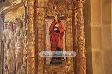 Interiores. Iglesia de Santa María de Valdediós