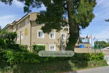 Exteriores. Hotel Hostal de la Playa