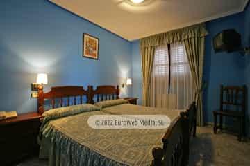 Habitación 206. Hotel Las Palmeras