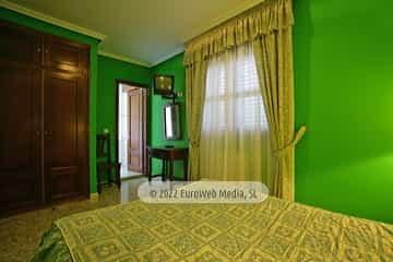 Habitación 205. Hotel Las Palmeras