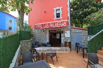 Exteriores. Hotel Las Palmeras