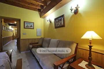Salón. Casa rural El Torrejón