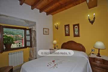 Habitación El Salón. Casa rural El Torrejón