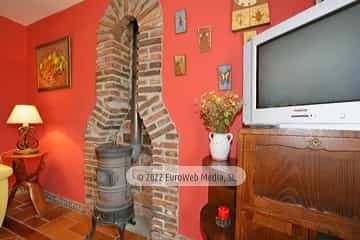 Salón. Casa de aldea Casa Arenas