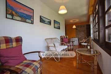 Salón corredor. Casa de aldea Casa Arenas