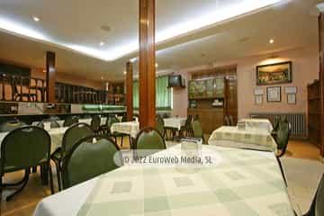 Cafetería. Hotel Monte y Mar