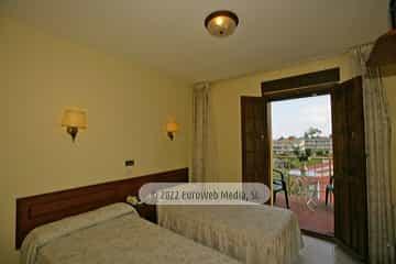 Habitación modelo 1. Hotel Monte y Mar
