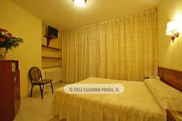 Habitación modelo 3. Hotel Monte y Mar