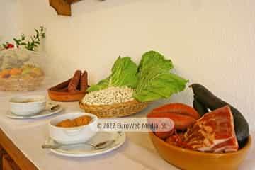 Restaurante. Hotel rural Valle de Lago