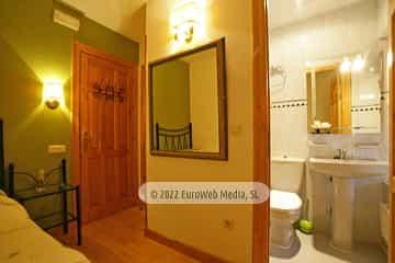 Habitación 1.1. Hotel rural Valle de Lago