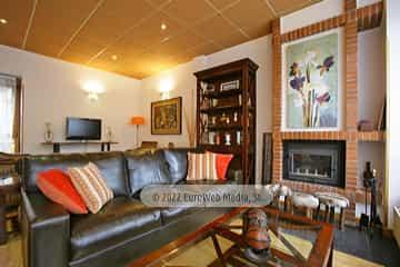 Salón social. Hotel rural Valle de Lago