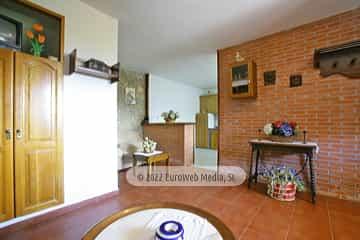 Cocina. Casa rural El Regueru