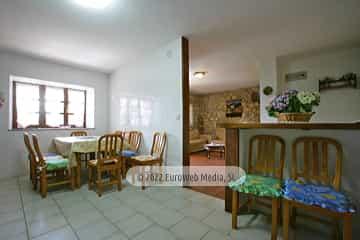 Salón. Casa rural El Regueru
