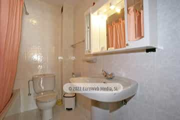 Baño. Casa rural El Regueru