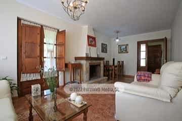 Salón. Casa rural La Llosica