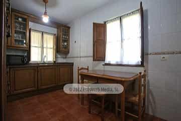 Cocina. Casa rural La Llosica