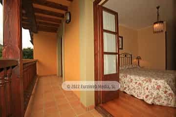 Habitación 2. Casa rural La Llosica