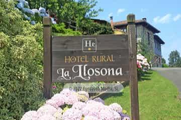 Exteriores. Hotel rural La Llosona