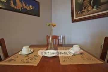 Comedor. Hotel rural La Llosona