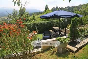 El jardín. Hotel rural La Llosona