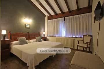 Habitación 1. Hotel rural La Llosona