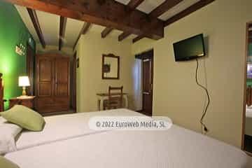 Habitación 3. Hotel rural La Llosona