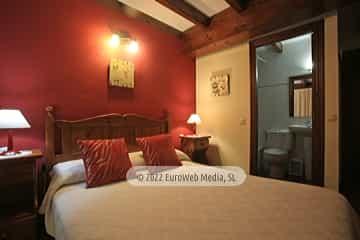 Habitación 4. Hotel rural La Llosona
