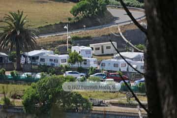 Panorámicas. Camping Perlora