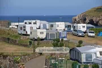 Salón TV. Camping Perlora