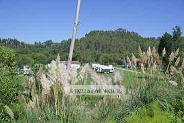 Acampada. Camping Playa Sauces