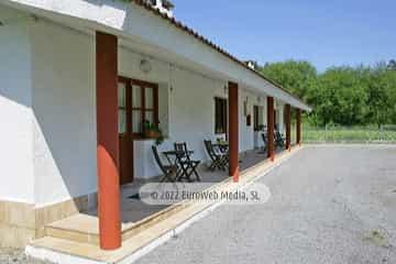 Bungalow modelo 1. Camping Playa Sauces