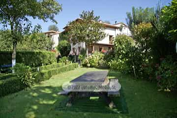 Exteriores. Casa de aldea La Casona del Jou