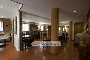 Salón. Casa de aldea La Casona del Jou