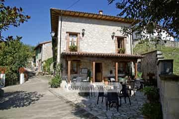 Terraza. Casa de aldea La Casona del Jou