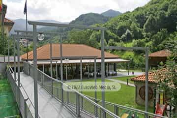 Exteriores. Hotel Santa Cristina