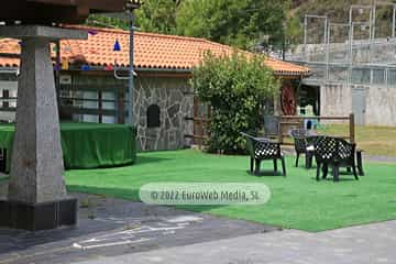 Terraza. Hotel Santa Cristina