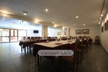 Restaurante. Hotel Santa Cristina