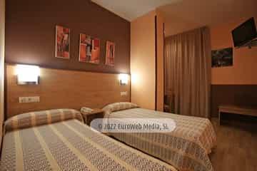Habitación 206. Hotel Santa Cristina