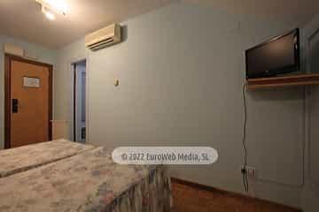 Habitación 312. Hotel Santa Cristina