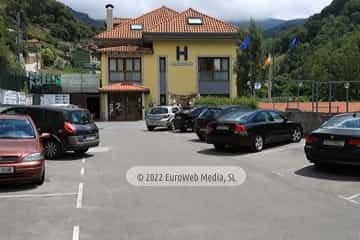 Sala de juegos. Hotel Santa Cristina